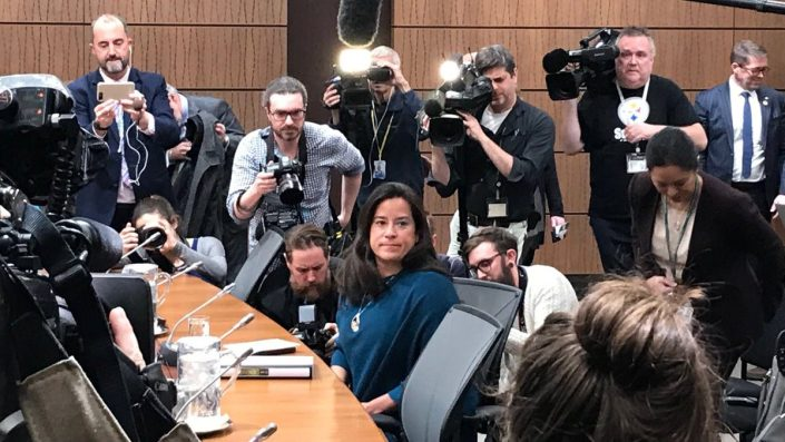 Jody Wilson-Raybould testifies about a 'consistent and sustained effort' to politically interfere in SNC-Lavalin prosecution