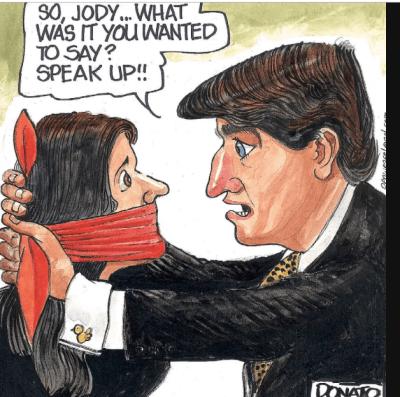 Liberal majority votes to keep Jody Wilson-Raybould gagged on SNC-Lavalin