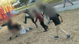 Creepy: Laughing children attack Mother at Saskatoon kiddie park