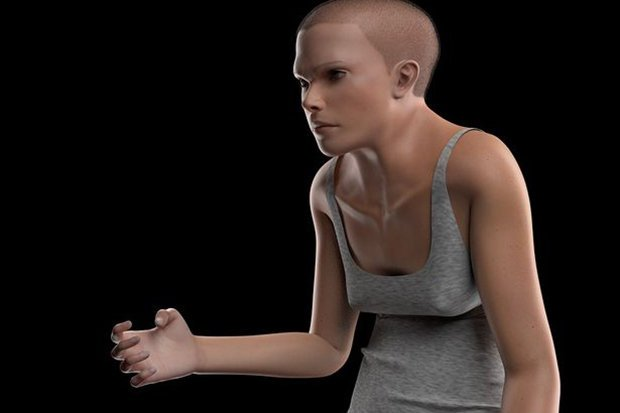 Hunched backs and double eyelids: How tech-obsessed humans might look in 2100