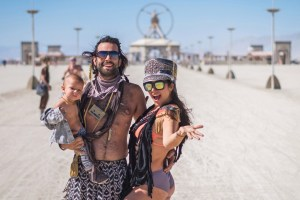 Babies and diapers are replacing sex and drugs at Burning Man