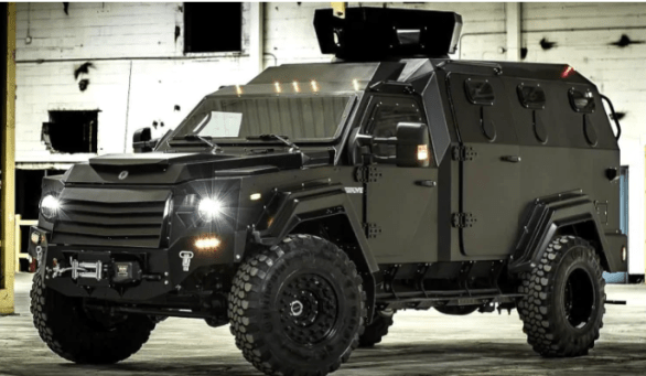 Controversial armoured police vehicle to arrive in Halifax next year