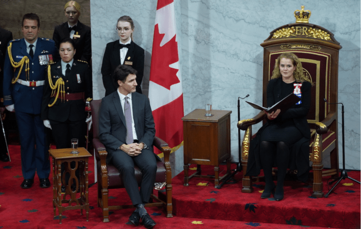 Liberal Throne Speech Courts NDP And Bloc With Promise Of Collaboration