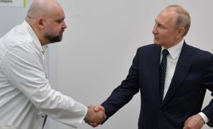 Vladimir Putin coronavirus scare as physician he shook hands with a week ago tests positive for infection