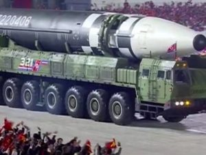 North Korea unveils 'monster' new intercontinental ballistic missile at parade