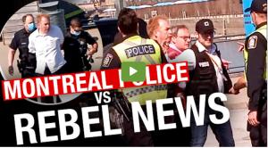 RAW: Montreal Police RAID Rebel News Airbnb,10-hour standoff ensues