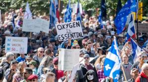 100,000 protest in Montreal against Quebec lockdown, demand Premier's resignation