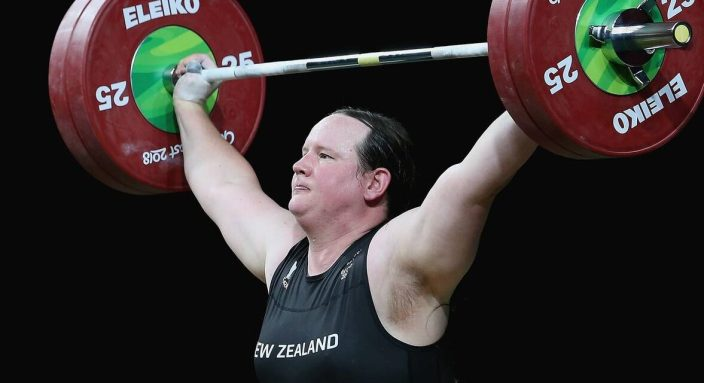 FIRST TRANS OLYMPIAN – WOMEN'S WEIGHTLIFTING TEAM