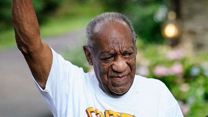 Cosby released from prison, survivors pissed