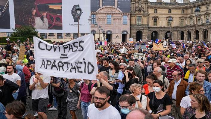 Worldwide Protests as Lockdown, Vaccination Mandates Begin