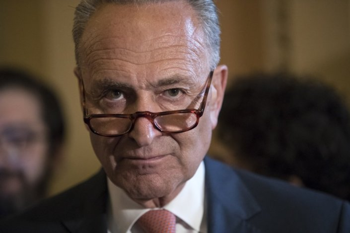Chuck Schumer is pissed about 'Canada's contorted politics' surrounding border re-opening