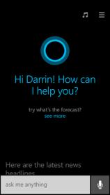 Cortana on Windows Phone 8.1