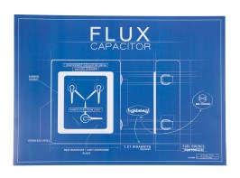 TruffleShuffle_com_Back_to_the_Future_Future_Technologies_Flux_Capacitor_Blueprint_14_99_hi_res
