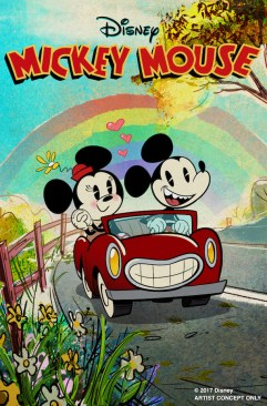 AT D23 EXPO 2017, DISNEY PARKS CHAIRMAN BOB CHAPEK ANNOUNCES NEW MICKEY AND MINNIE'S RUNAWAY RAILWAY -- During D23 Expo 2017, Disney Parks Chairman Bob Chapek announces Mickey and Minnie's Runaway Railway at Disney's Hollywood Studios at Walt Disney World. The attraction will be the first ever Mickey-themed ride-through attraction, with a new original story and lovable attraction theme song.