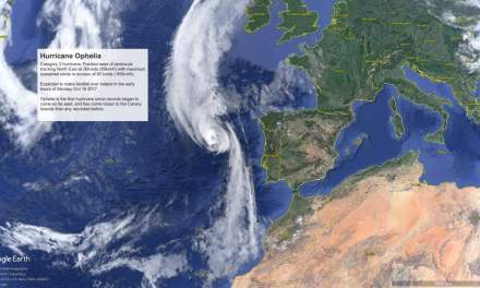 'Ophelia' the closest hurricane to the Canary Islands ever recorded