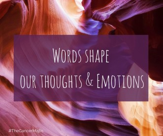 Words shape our thoughts & emotions - quote