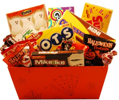 Spookylicious Halloween Gift Basket The Candy Database
