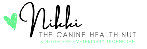Love Nikki The Canine Health Nut and Registered Veterinary Technician