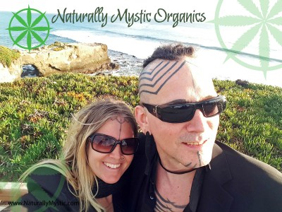Cricket and Jozee, Naturally Mystic Organics