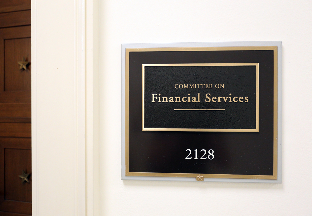 Show Me The Money! Banking Hearing Held In Congress Last Week