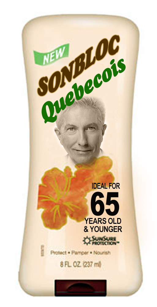 Son Bloc Quebecois Lotion