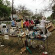 Third Annual Clutter for Cannoli Yard Sale A Great Success