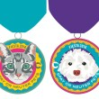Our cat and dog 2016 Fiesta medals have arrived!