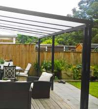 ANTHRACITE GREY CANOPIES AND CARPORTS  The Canopy Shop