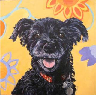 dog-paintings-poodle-yorkie