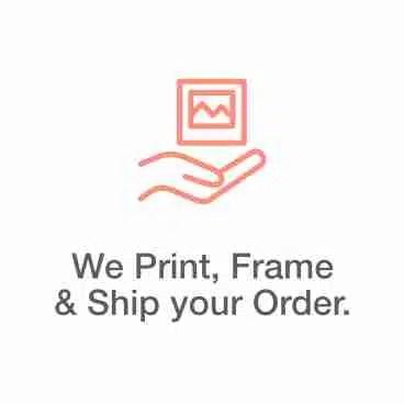 We Print, Frame & Ship