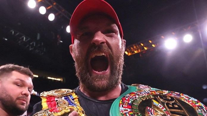 Fury knocks out Wilder again, wins trilogy bout