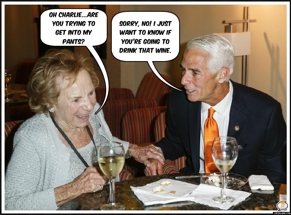 Charlie Crist wine