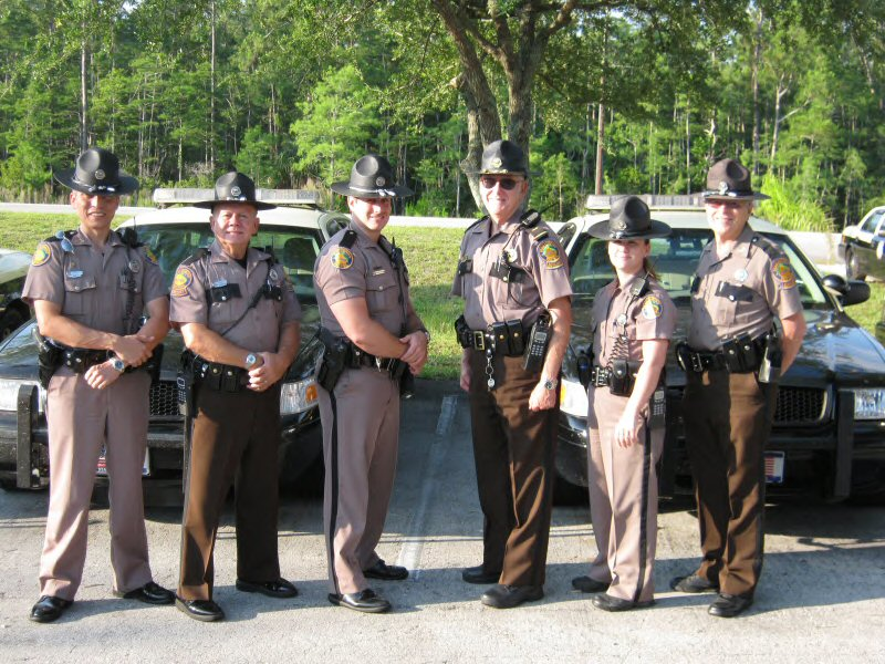 "Florida Highway Patrol Troopers are Truly ""Troopers"""
