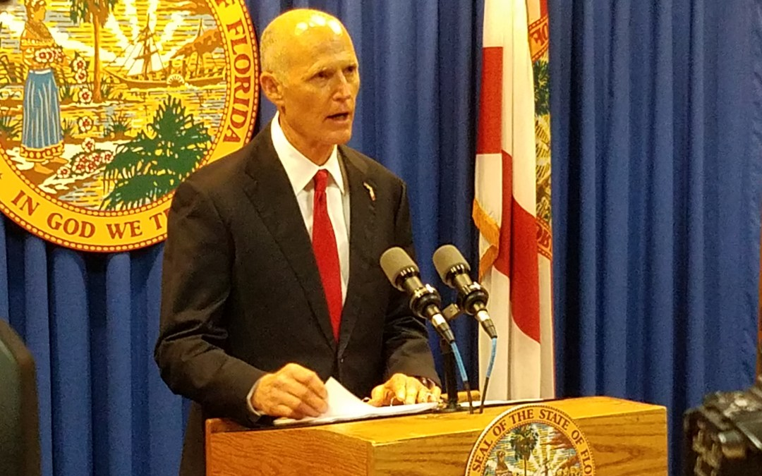 Florida Dems claim Rick Scott violated election law and that Scott's own campaign has proven it