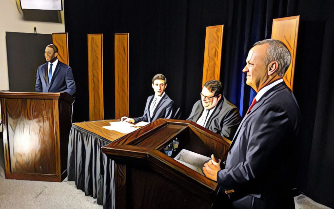 Sanctuary Cities Debate: Corcoran Stays On Message; Gillum Plays Race Card