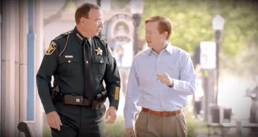 Polk Sheriff Grady Judd gives his support to Adam Putnam, Ashley Moody campaigns