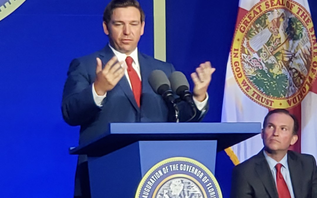 DeSantis promises busy first week: possible decisions on Sheriff Israel, appointment to Supreme Court
