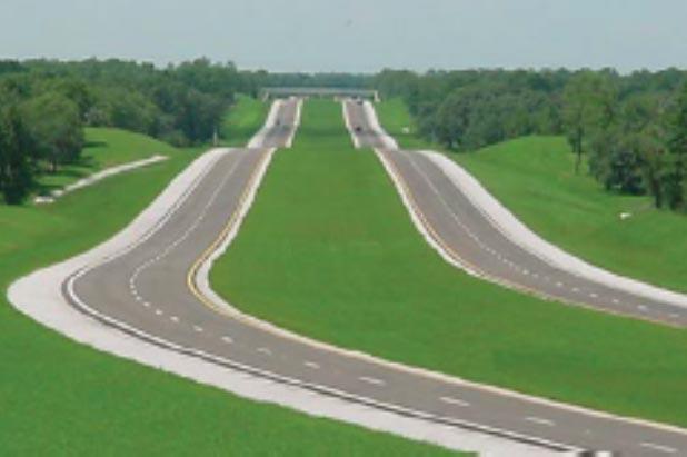 Despite his reservations about toll roads, Gov  DeSantis