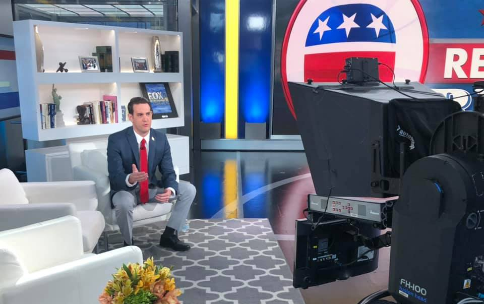 CD3 candidate Gavin Rollins headlines Fox News segments over the weekend