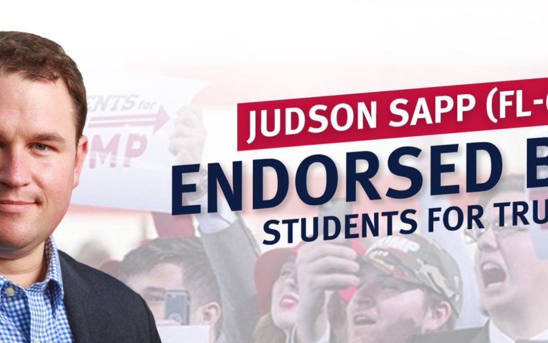 Students for Trump endorses Judson Sapp for CD 3