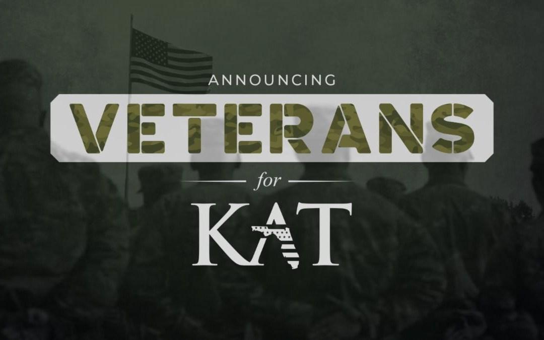 """Kat Cammack announces """"Veterans for Kat Coalition"""""""