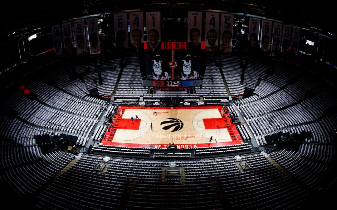 Tampa will be home of the NBA's Toronto Raptors during COVID-19 pandemic