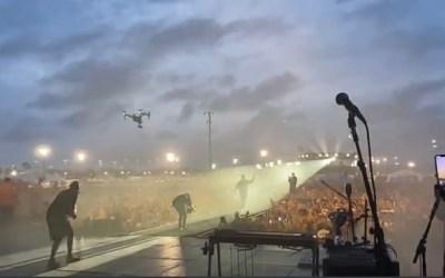 DeSantis receives star treatment at first live music festival since pandemic