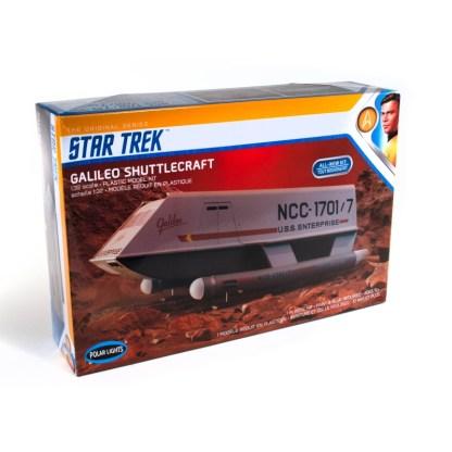 Star Trek Galileo Shuttle model kit.