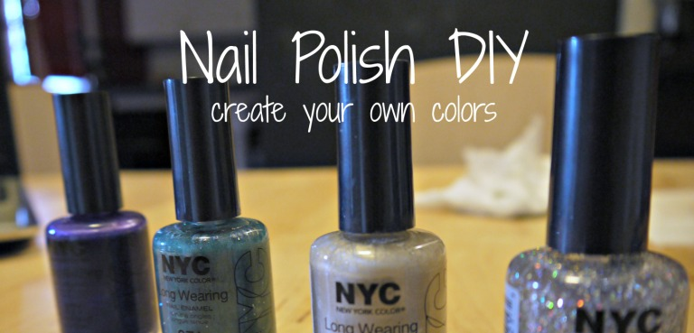 Design DIY: Homemade Nail Polish