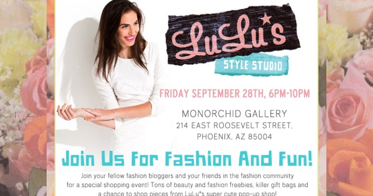 Fashion News: Lulu*s Style Studio to Come to Phoenix
