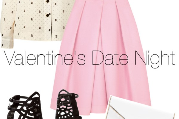 Linked to Fashion: Valentine's Date Look Series