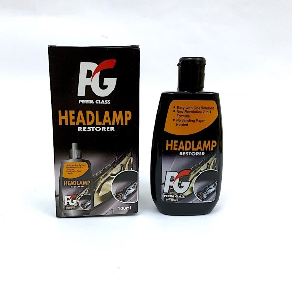 Car headlight restoration kit
