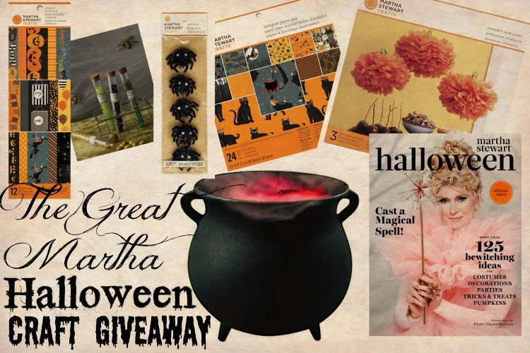 The Great Martha Halloween Craft Giveaway