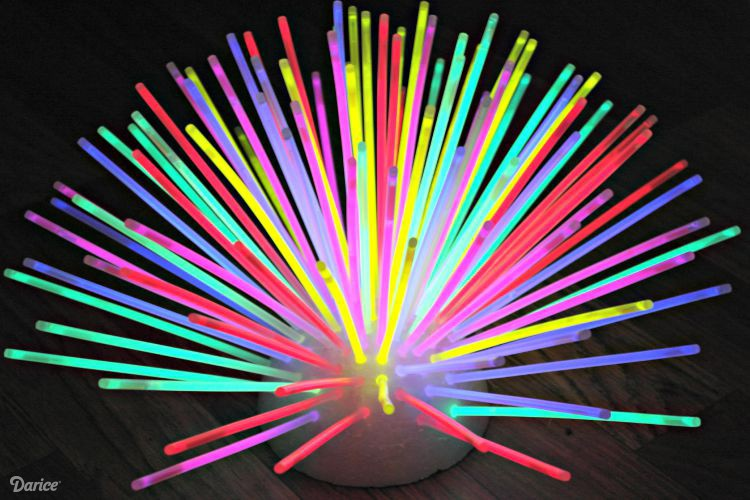 3d Fall Ceiling Wallpaper Glow In The Dark Glow Stick Centerpiece The Cards We Drew